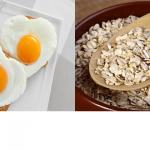 מה עדיף לאכול בבוקר ביצים או דייסת שיבולת שועל?